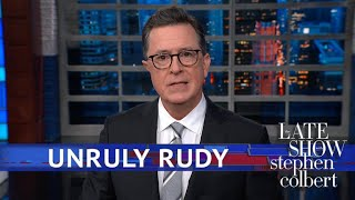 Rudy Giuliani Doesn't Know If Colluding Is Crime