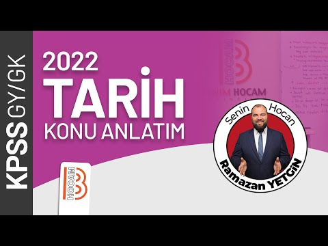 31) KPSS Tarih - Osmanlı Devleti Yükselme Dönemi 1 - Ramazan YETGİN - 2022