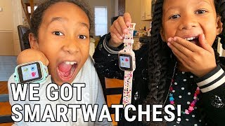 WHAT IS A KIDS SMARTWATCH? Sean and Ella Try Out the iTouch Playzoom