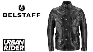 Belstaff Turner Waxed Leather Motorcycle Jacket Review by URBAN RIDER