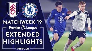 Fulham v. Chelsea | PREMIER LEAGUE HIGHLIGHTS | 1/16/2021 | NBC Sports