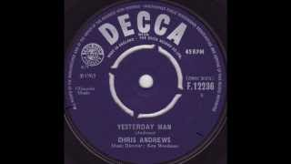 Chris Andrews - Yesterday Man / Original 45Single 1965 (WITH LYRICS) / HD 1080p
