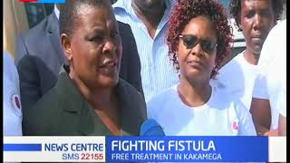 volunteer medical practitioners launch free fistula surgery  and dialysis program in Kakamega county