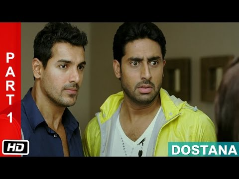 Accidental Meeting - Part 1 - Dostana (2008) | Abhishek Bachchan, John Abraham, Priyanka Chopra