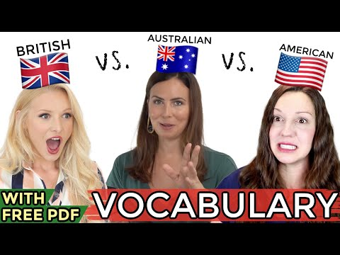 Download ONE language, THREE accents - UK vs. USA vs. AUS English! Mp4 HD Video and MP3