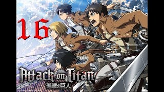 [PC GAME] Attack on titan: Wings of freedom - Full Gameplay Part 16 - 60 FPS 1080p