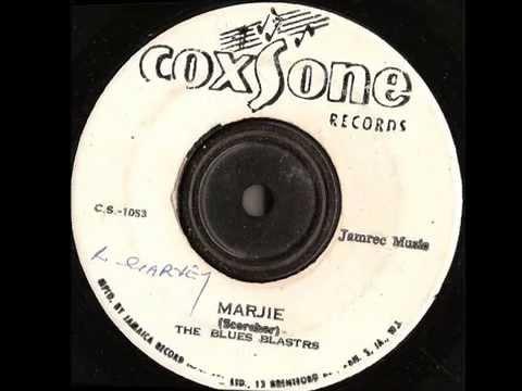 The Blues Blasters – Marjie – Coxsone records – ska jazz