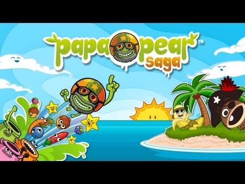 Papa Pear Saga - Universal - HD Gameplay Trailer