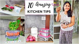 10 Amazing TIME- SAVING Kitchen Tips + Meal Planning Hacks / #HomeHashtagLife