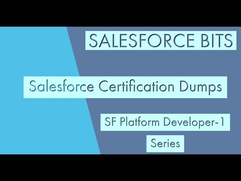 Salesforce Platform Developer Certification 1 Dumps- ADM 401 ...