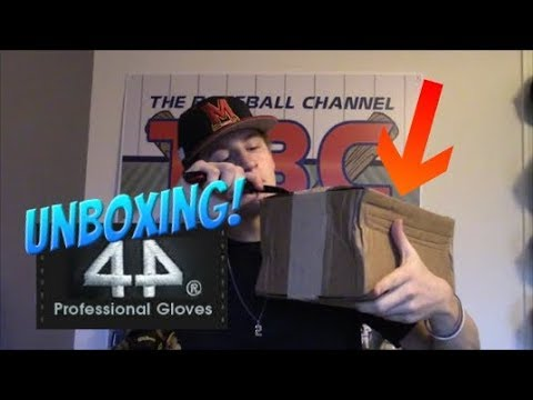 Custom Glove for $150! 44 Pro Signature Series Unboxing!