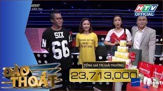 HTV ĐÀO THOÁT | Hoàng Rapper tìm được bí mật chọn quà xịn | DT #16 FULL | 24/7/2018