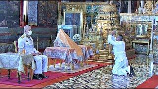 ผู้แทนพระองค์ ไปในพระราชพิธีจารึกหิรัญบัตรสมณศักดิ์ พระพรหมวชิรโสภณ วัดบึงพลาญชัย จังหวัดร้อยเอ็ด