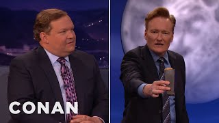 Andy Richter Breaks The CONAN Couch  - CONAN On TBS