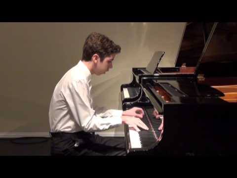My Student. Quinlan Facey. Rachmaninov.Etude Tableau in A Minor, Op 39, No 6