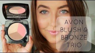 How to use Avon Blush and Bronze Trio