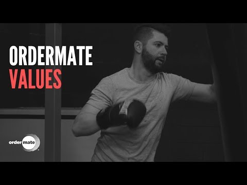 OrderMate - Our Values