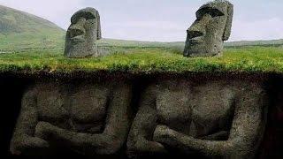 衝撃モアイ像の下を掘ってみた結果・・・イースター島にあるモアイ像の下を掘ってみたら意外なものが出てきた!!