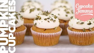 Pumpkin Spice Cupcake Recipe with Dane! | Cupcake Jemma Channel by Cupcake Jemma