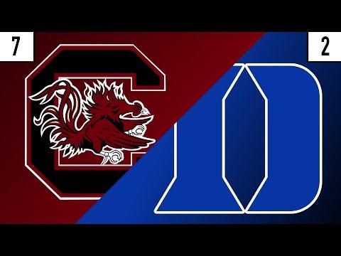 7 South Carolina vs. 2 Duke Prediction | Who's Got Next?