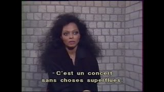 Diana Ross Rare full Interview 1985, Swept Away performance