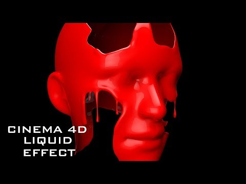 Cinema 4D Tutorial – Creating Melting Liquid Effect in Cinema 4D