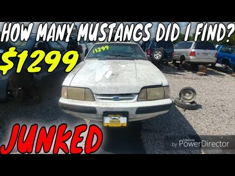 1990 Ford Mustang Junkyard Find