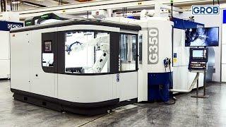 G350 Palettenwechselsystem und Roboterarm