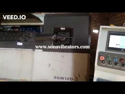 D2N Automatic Rebar Stirrup Bender Machine