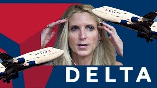 Delta gives ABOMINABLE customer service to Ann Coulter!