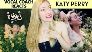 Vocal Coach Reacts: KATY PERRY 'Daisies' Official Video