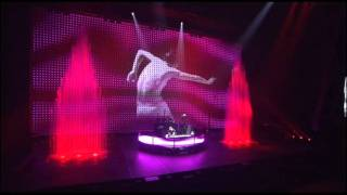 DJ Tiesto ft. Charlotte Martin - Sweet Things ( Elements of Life Tour Copenhagen )
