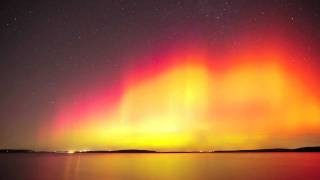 Geomagnetic Storm at Perry Lake, Kansas