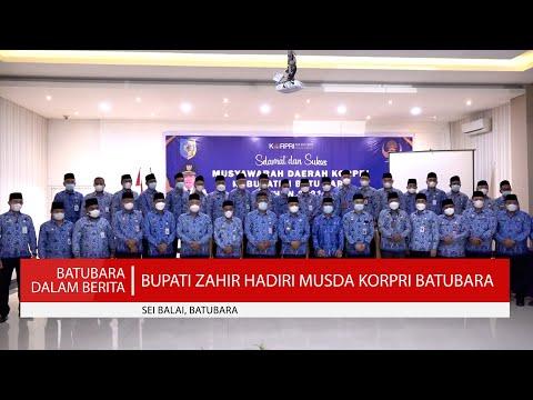 BUPATI ZAHIR HADIRI MUSDA KORPRI BATUBARA