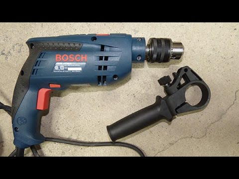 Bosch hammer drill unboxing and review