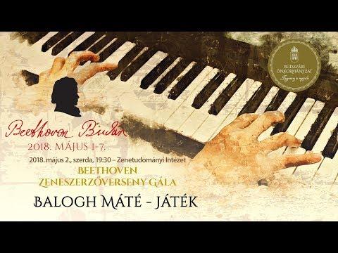 Beethoven Budán 2018 - Zeneszerzőverseny Gála: Balogh Máté - video preview image