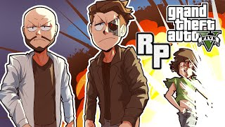 GTA 5 Roleplay moments that are all funny moments...