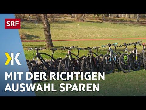 Elektro-Mountainbikes im Test: Grosses Sparpotenzial |   2017 | SRF Kassensturz