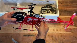 Amewi 25168 LAMA RC Helikopter Test & Unboxing Outdoor Ferngesteuert