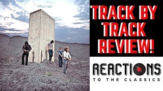 Reaction to The Who! Who's Next Full Album Review!