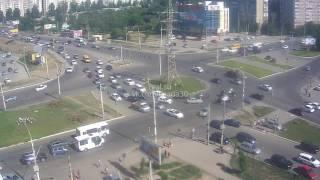 Авария около ТЦ Ярмарка ВАЗ vs Solaris