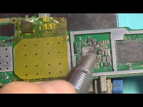 Планшет Lenovo Tab 2 A10-70L не реагирует на кнопку Power. Спил и замена КП MT6325V