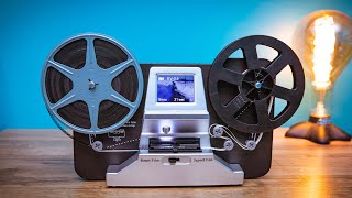 8mm and Super 8 Reels Movie Digitizer  Film Scanner Pro | Detailed Review