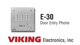 Viking E-30 Door Entry Phone
