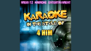The Measure of a Man (In the Style of 4 Him) (Karaoke Version)
