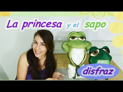 La Princesa y el Sapo (disfraz gorras)- The Princess and the frog (hats)