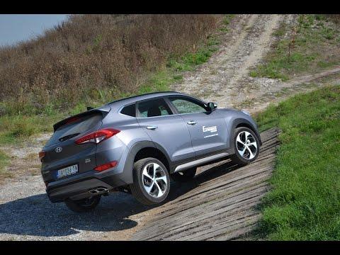 Hyundai  Tucson Внедорожник класса J - тест-драйв 1