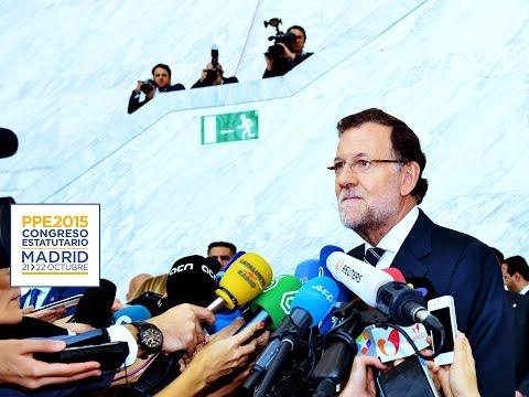 """Mariano Rajoy: """"Los datos son muy buenos, pero hay que seguir a esta velocidad de crucero"""""""