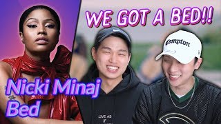 K-pop Artist Reaction] Nicki Minaj - Bed ft. Ariana Grande