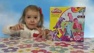Май литл Пони МЛП набор пластилина Плейдо / Обзор игрушек
